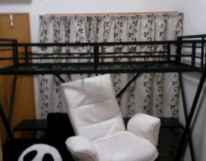 パイプベッド 椅子